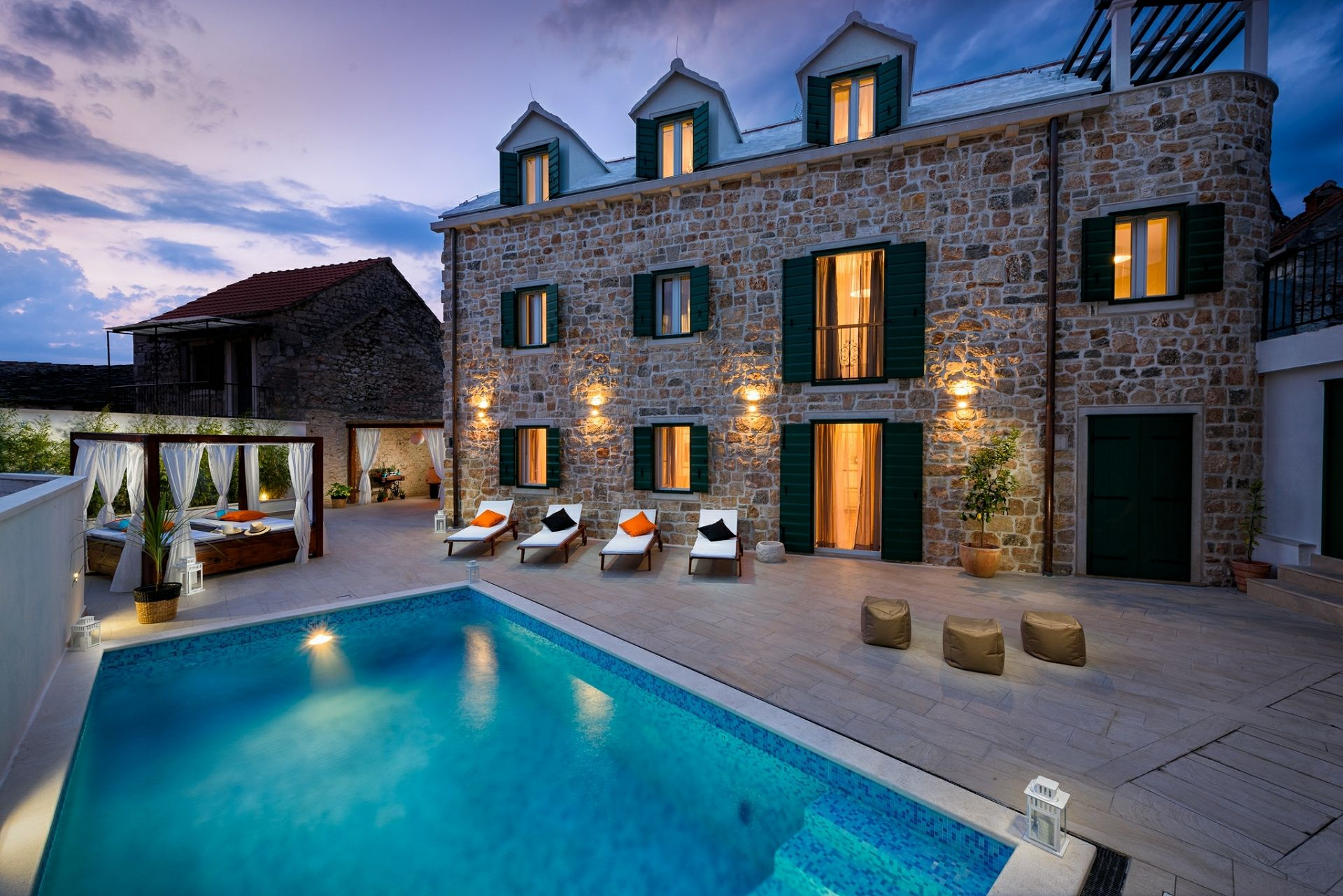 NM - Donji Humac - Vakantiehuizen, villa´s Kroatië