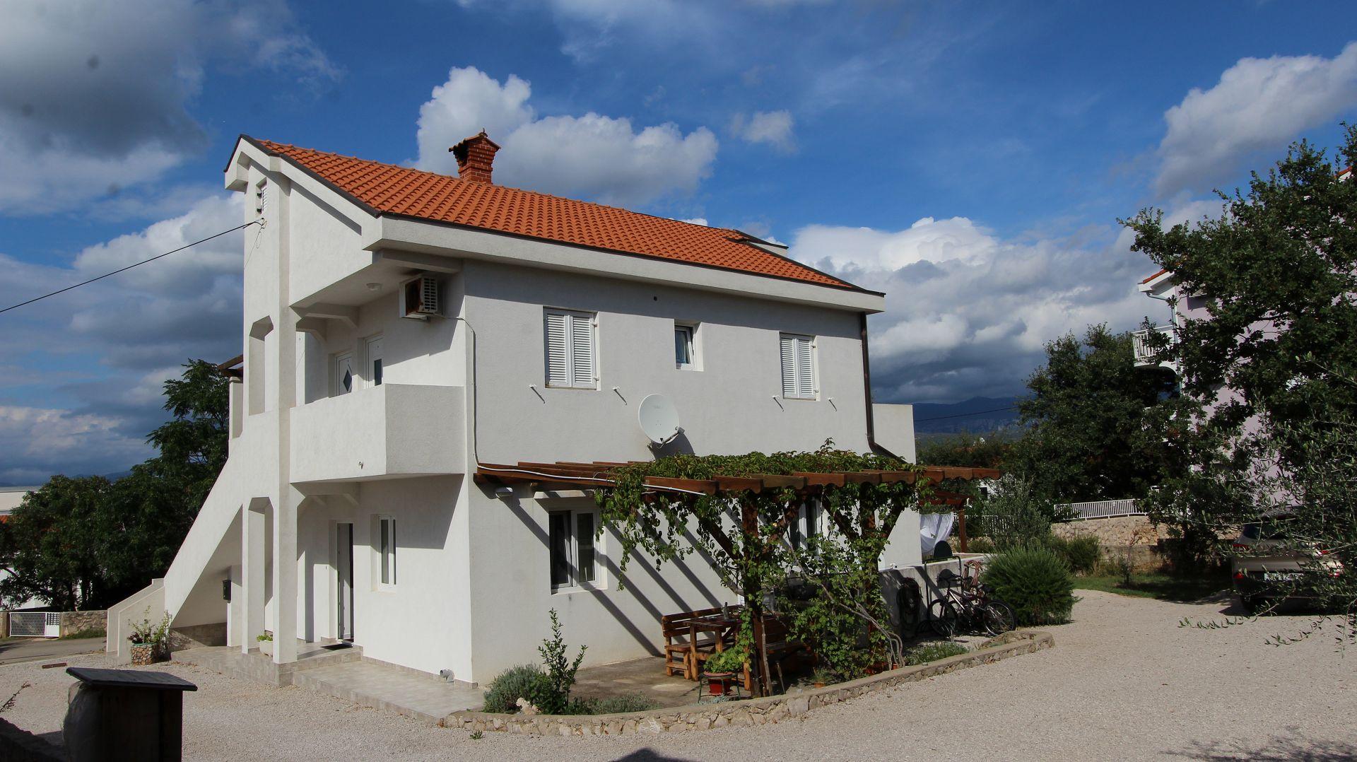 5939 - Klimno - Appartementen Kroatië