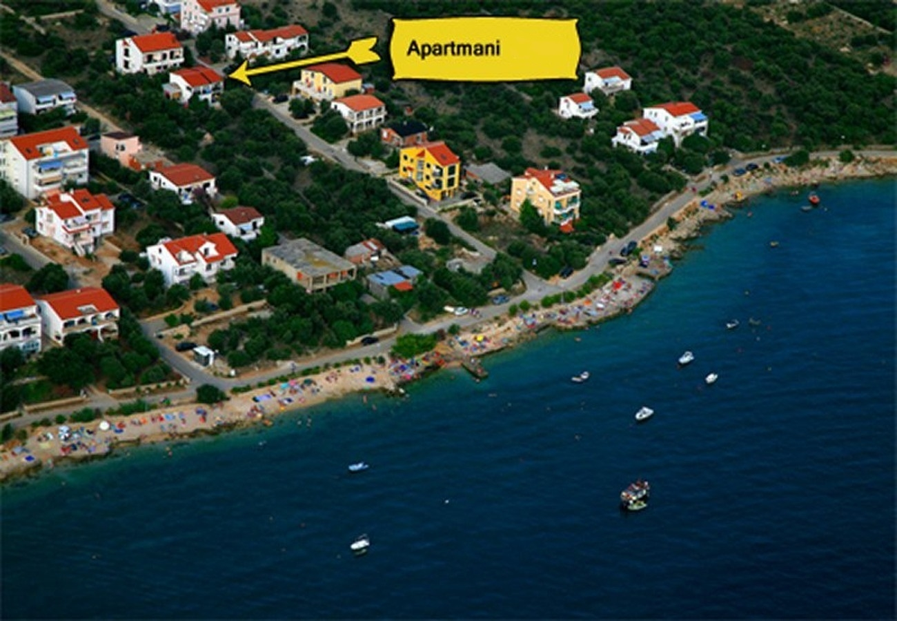Apartments, Mandre, Island of Pag - Apartments  Mare