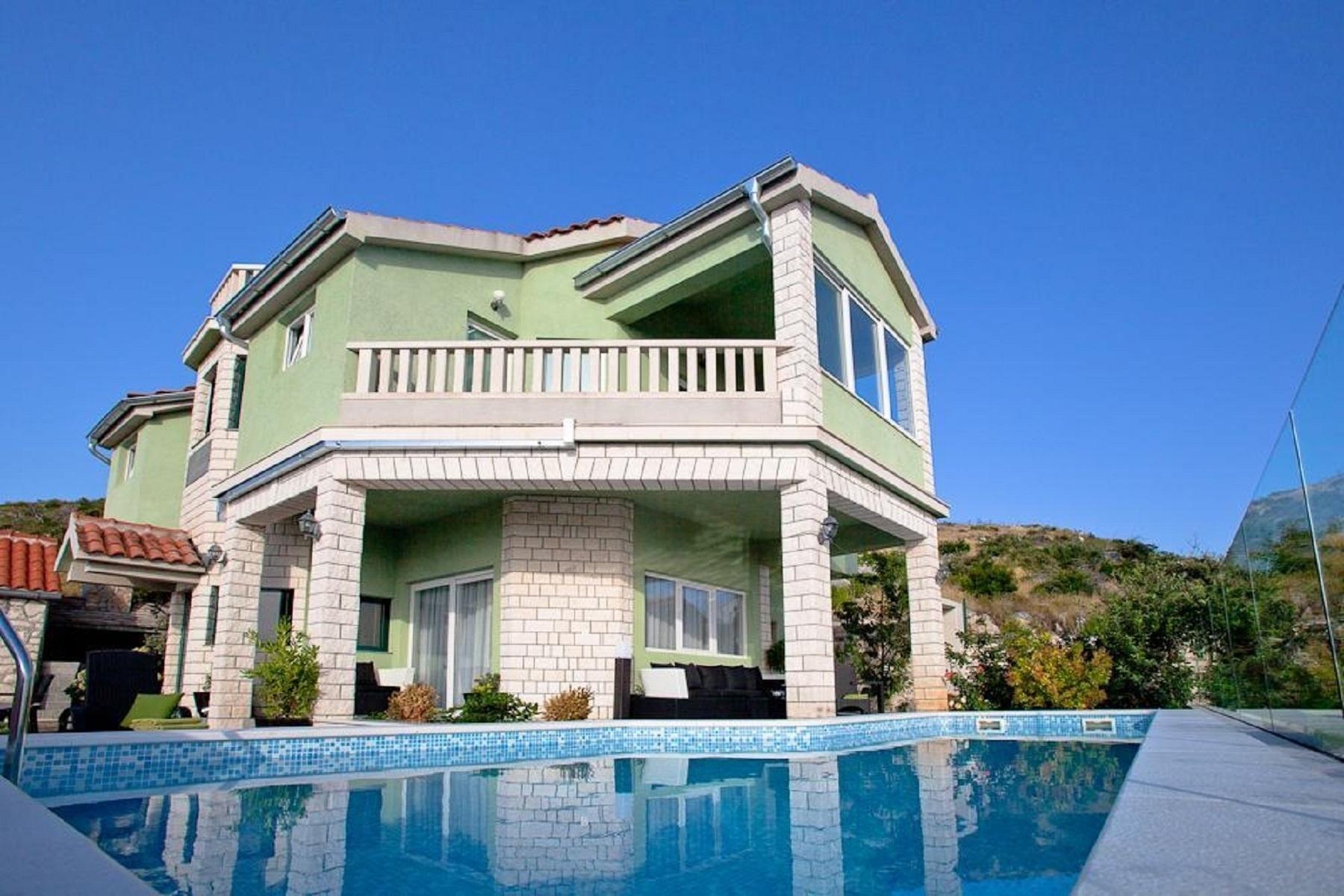 Villy/Dovolenkové domy, Bilo, Primošten - Dovolenkové domy, vily  Filippo - with pool :