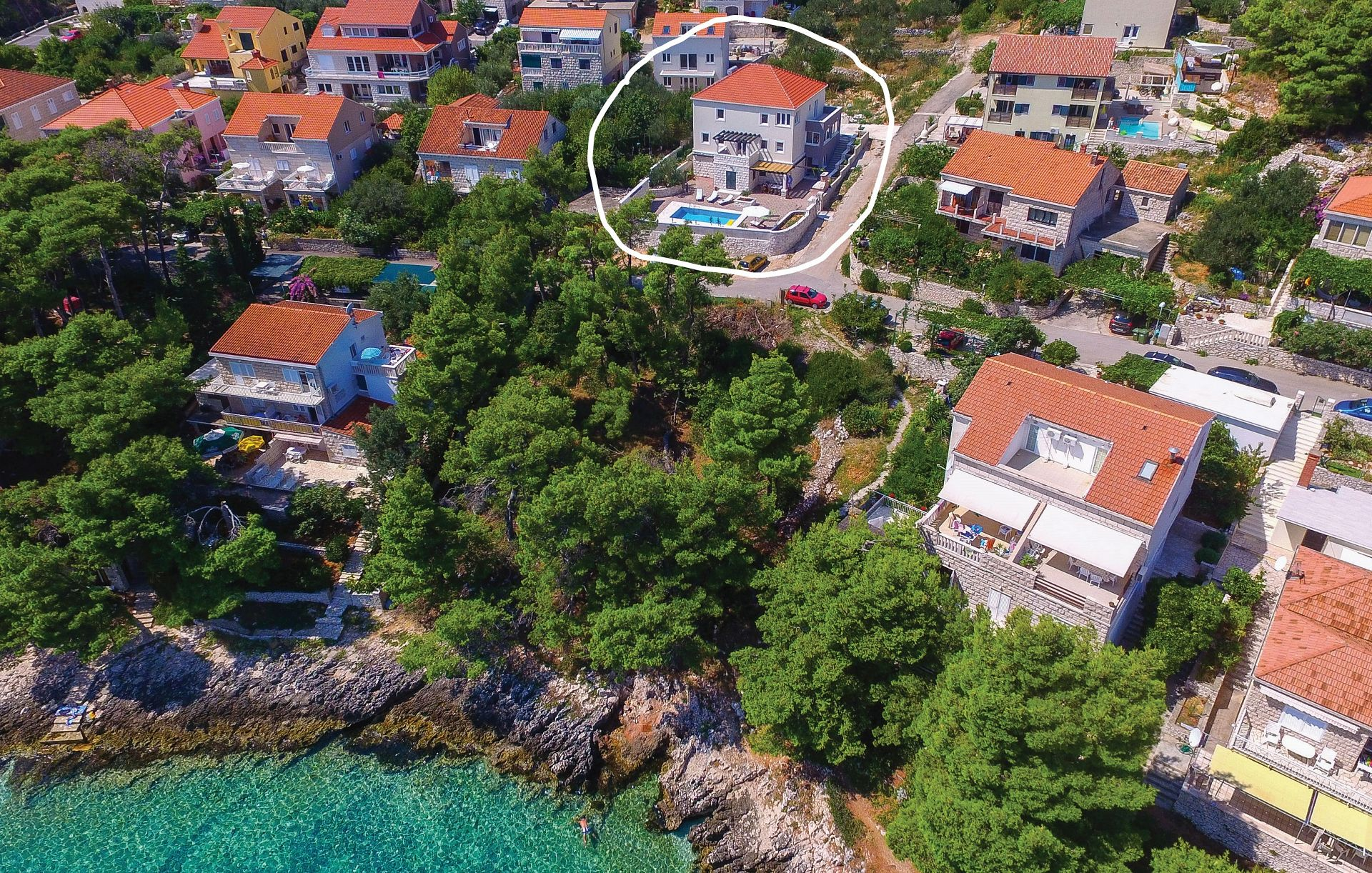 Holiday Homes, Lumbarda, Island of Korčula - Holiday houses, villas  Sandra