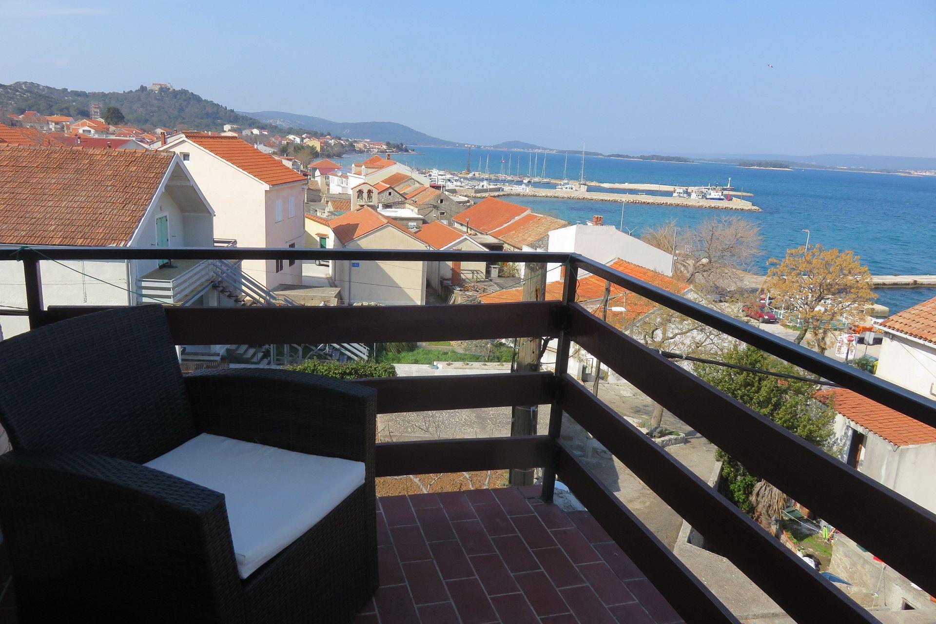 Marin - Tkon - Appartementen Kroatië