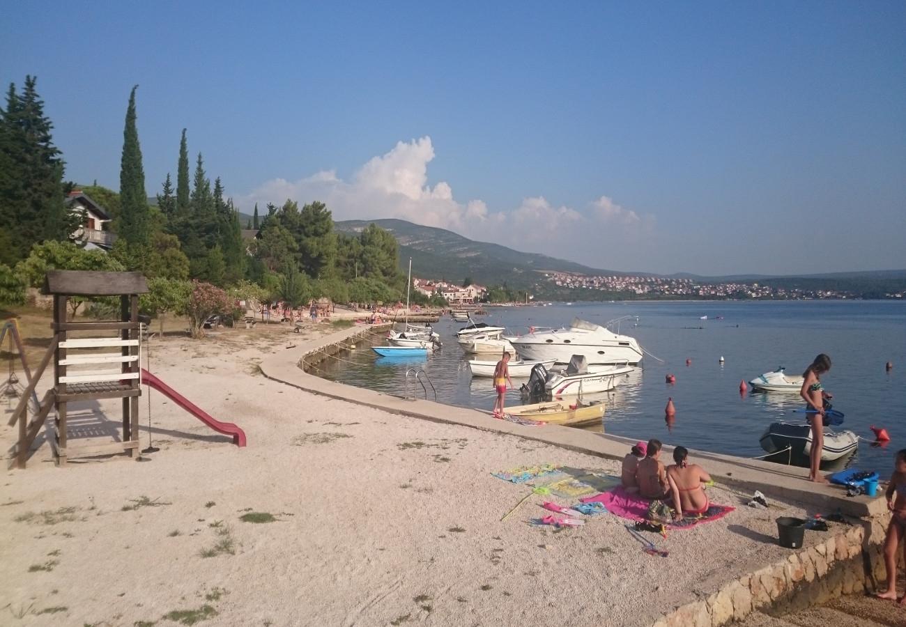 Tina - Obrovac - Appartementen Kroatië - strand