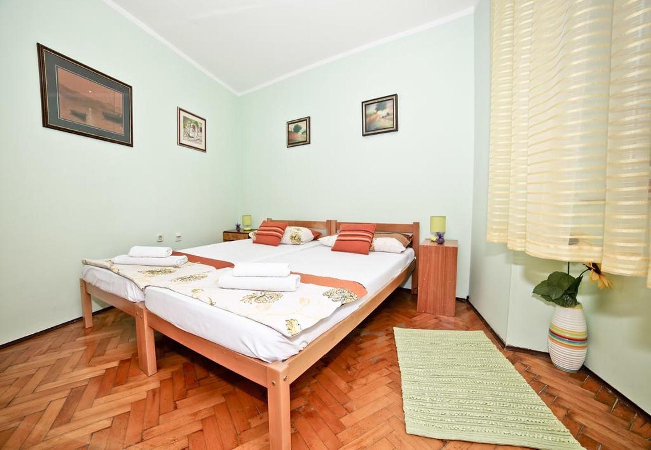 MV - Split - Appartementen Kroatië - A1(2+1): slaapkamer