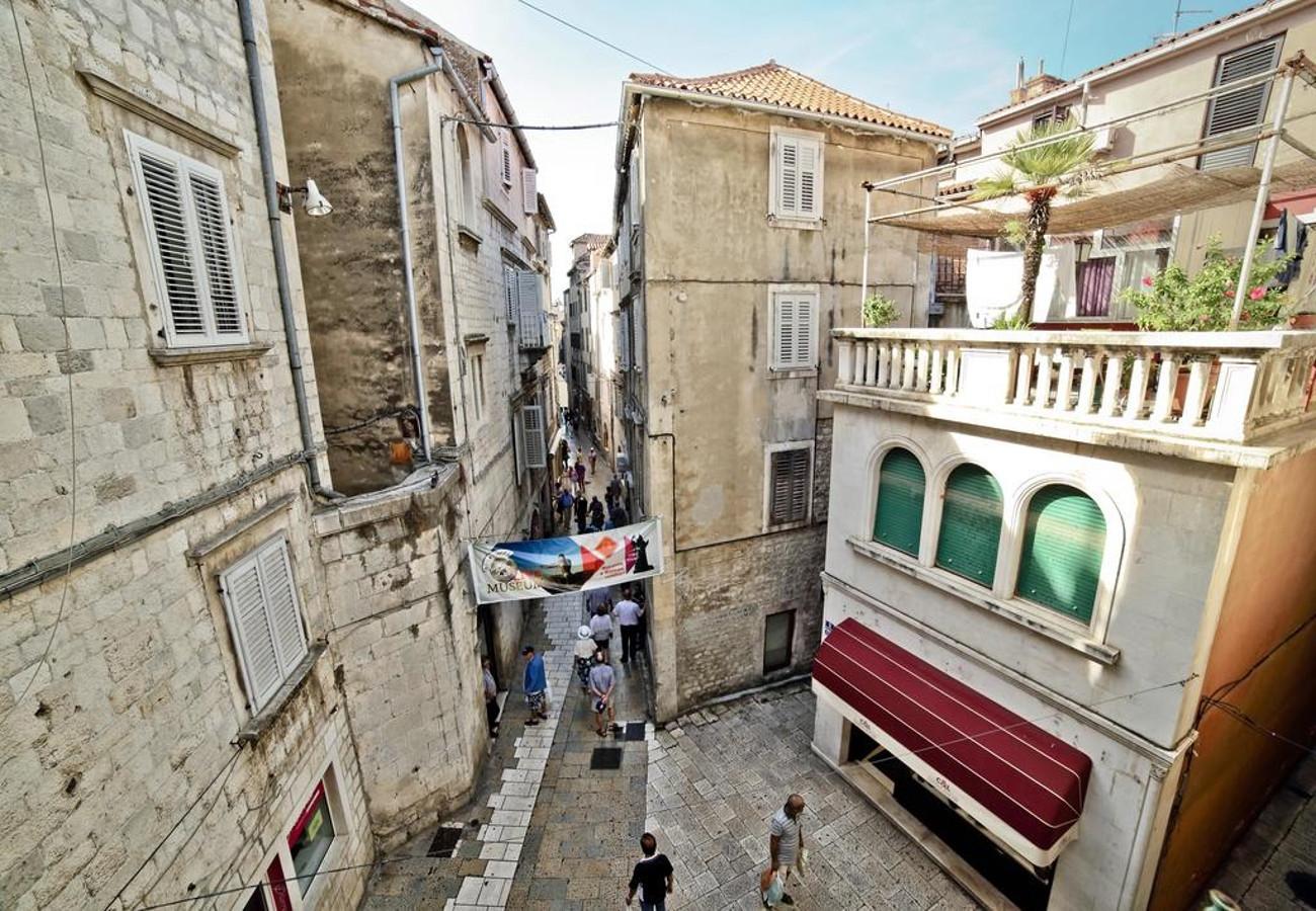 MV - Split - Appartementen Kroatië - A1(2+1): uitzicht