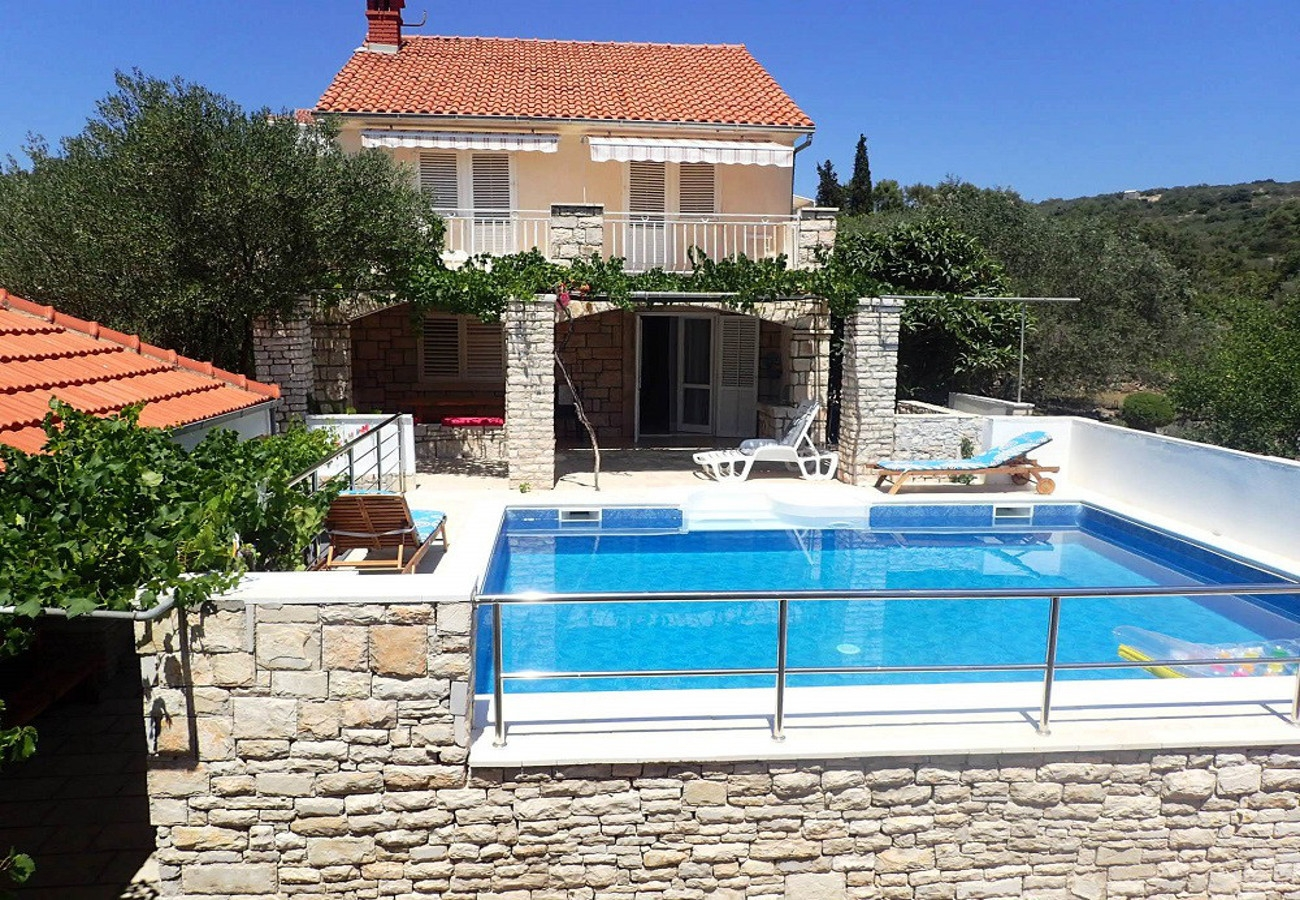 Villy/Dovolenkové domy, ,  - Dovolenkové domy, vily  Gradina 1 - private pool: