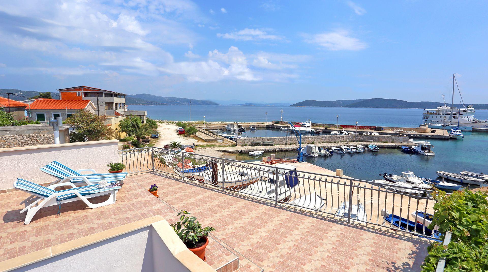 Marija D - Drvenik Mali (Eiland Drvenik Mali) - Appartementen Kroatië