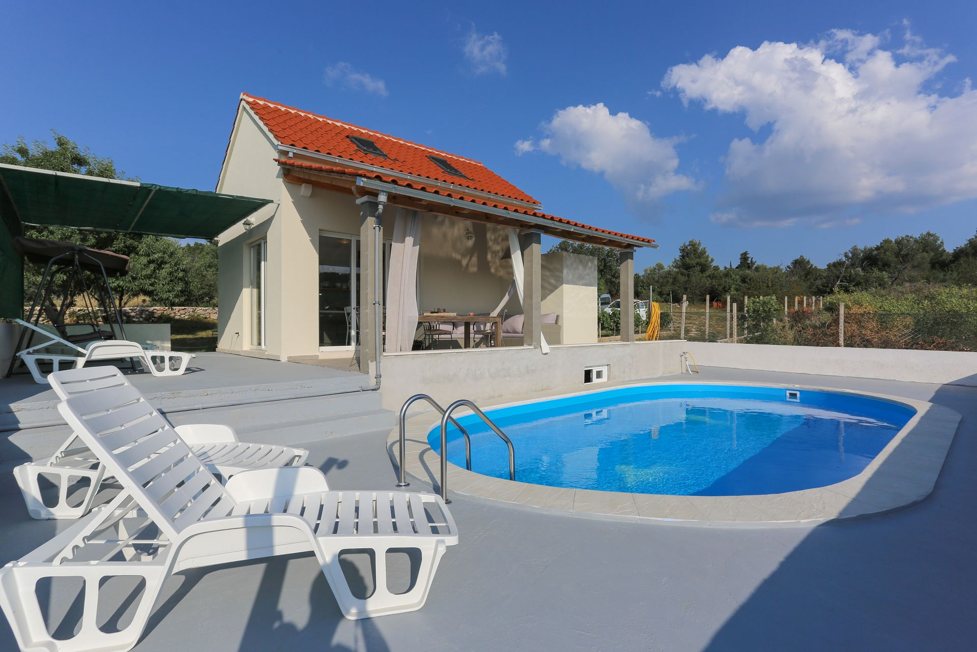 Baras garden - Mirca - Vakantiehuizen, villa´s Kroatië