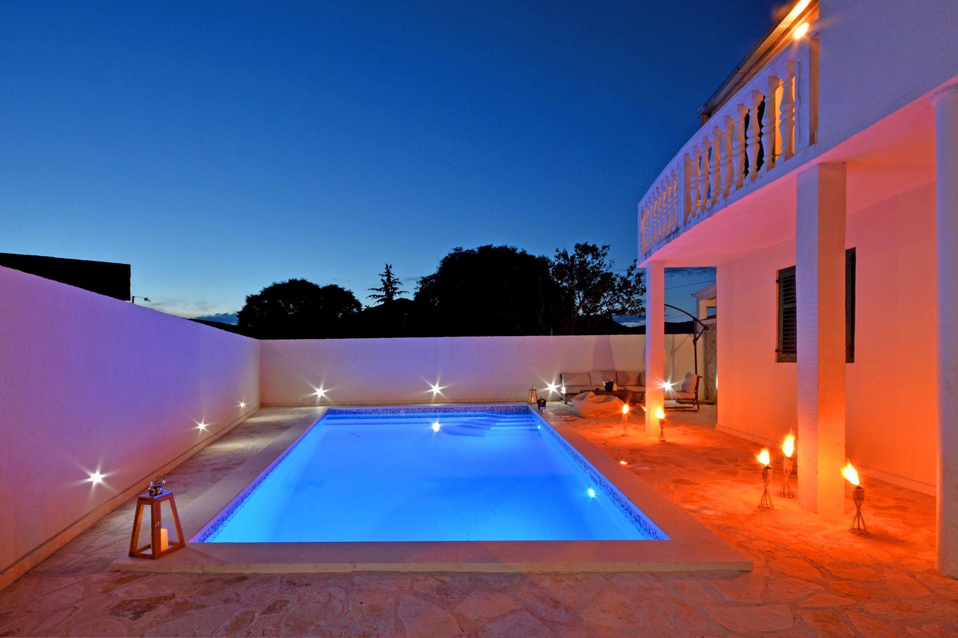 Zeljko - Marina - Appartementen Kroatië - zwembad