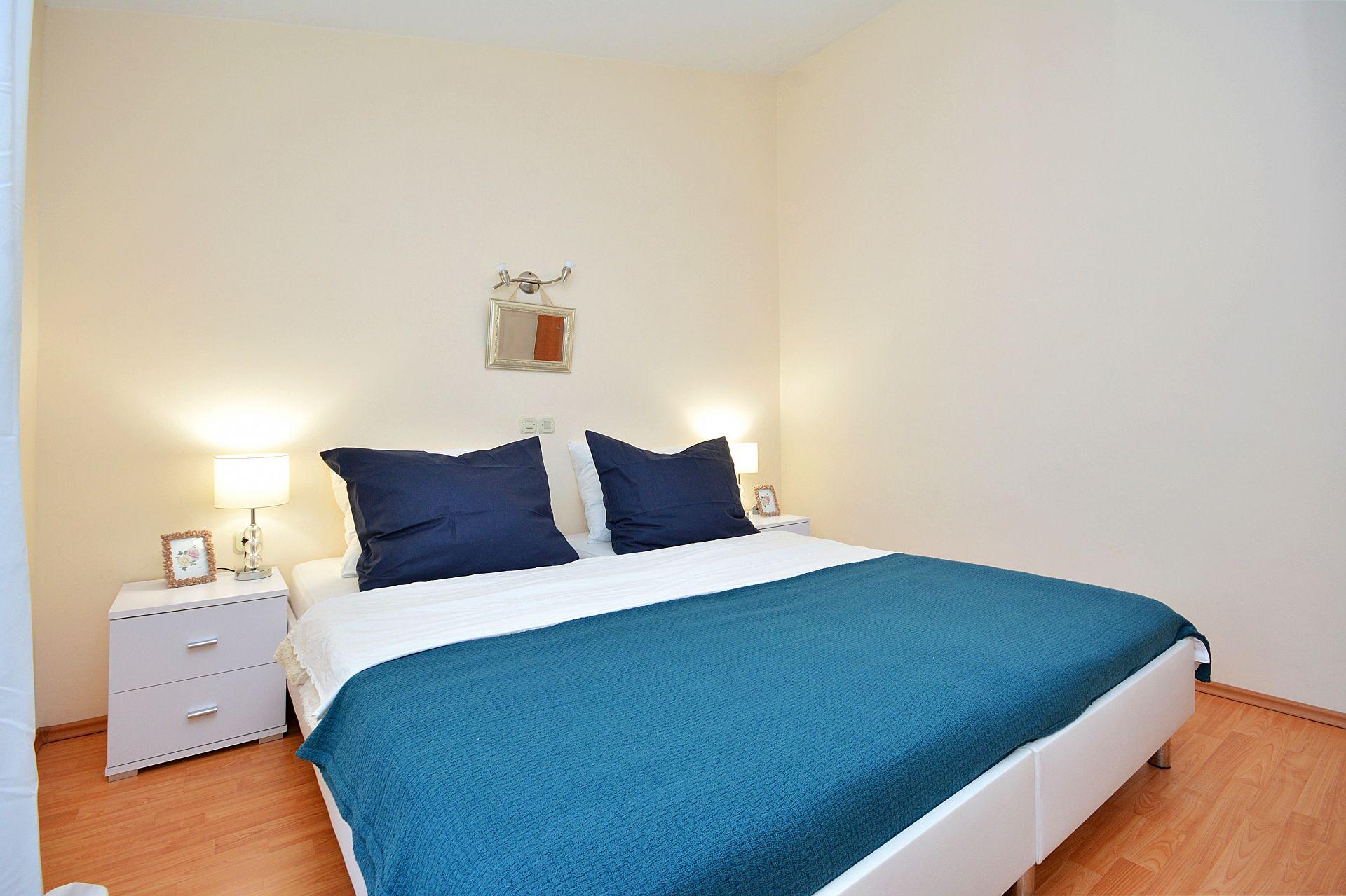 Zeljko - Marina - Appartementen Kroatië - A1(6+2): slaapkamer