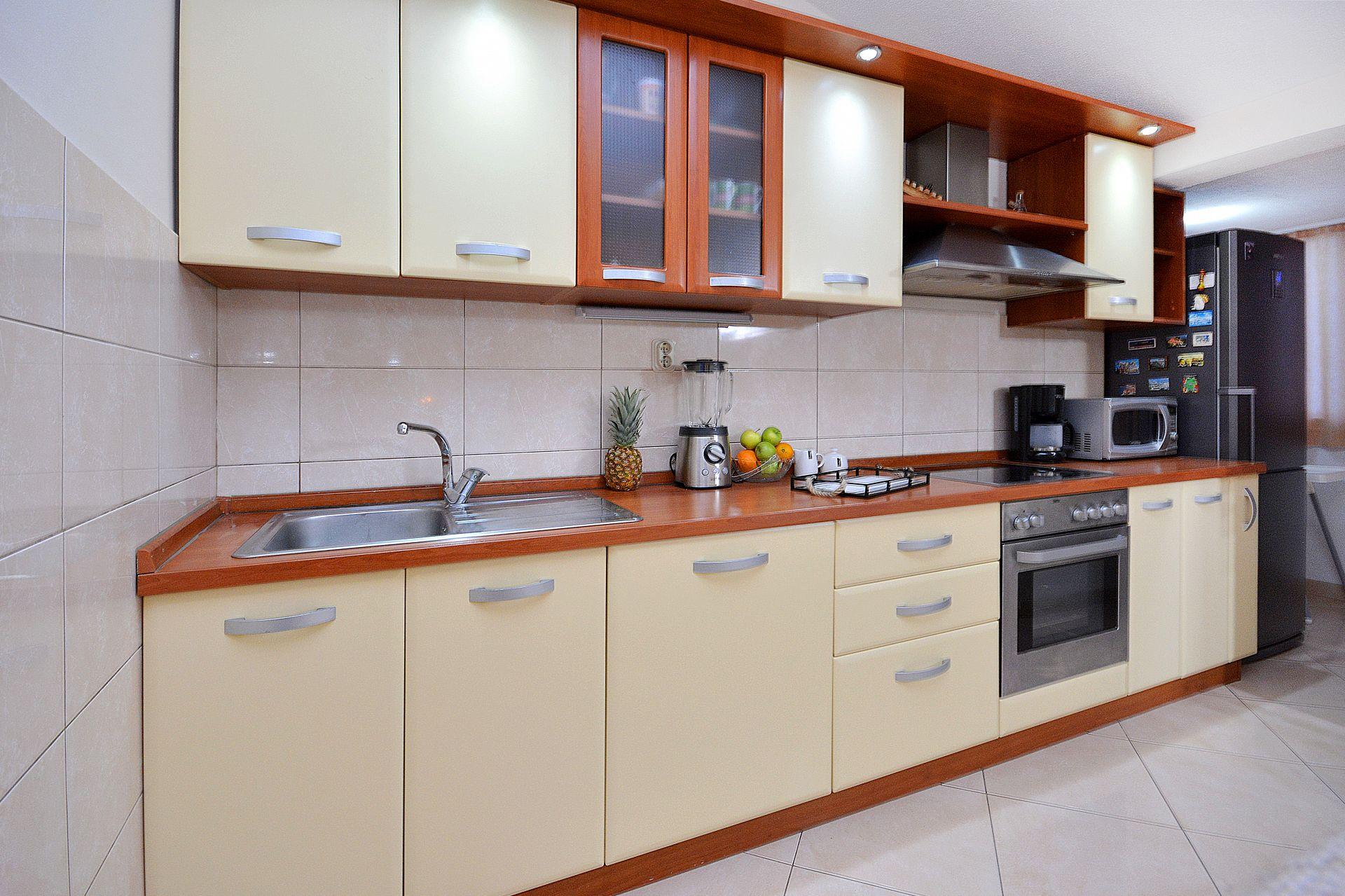 Zeljko - Marina - Appartementen Kroatië - A1(6+2): keuken