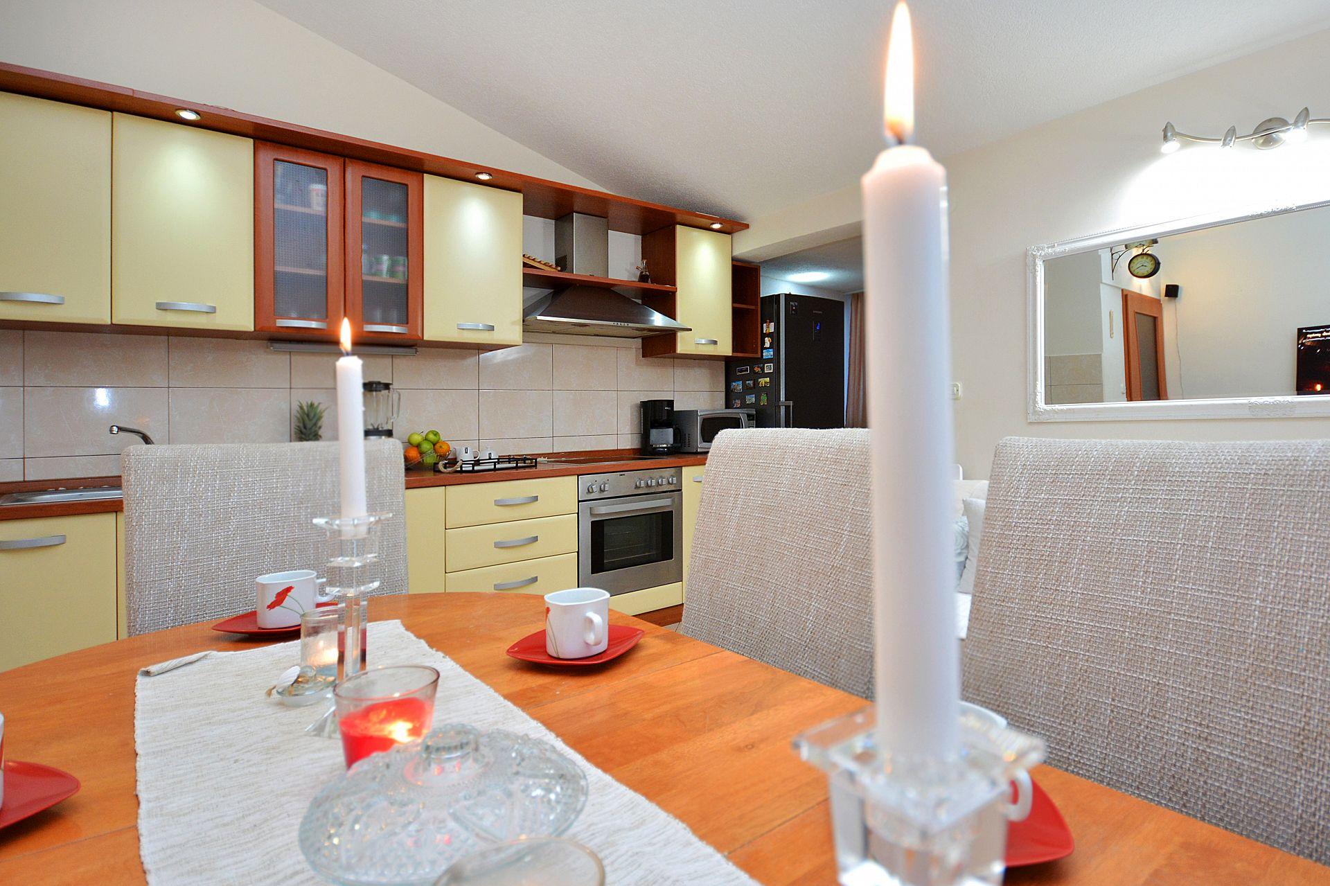 Zeljko - Marina - Appartementen Kroatië - A1(6+2): detail