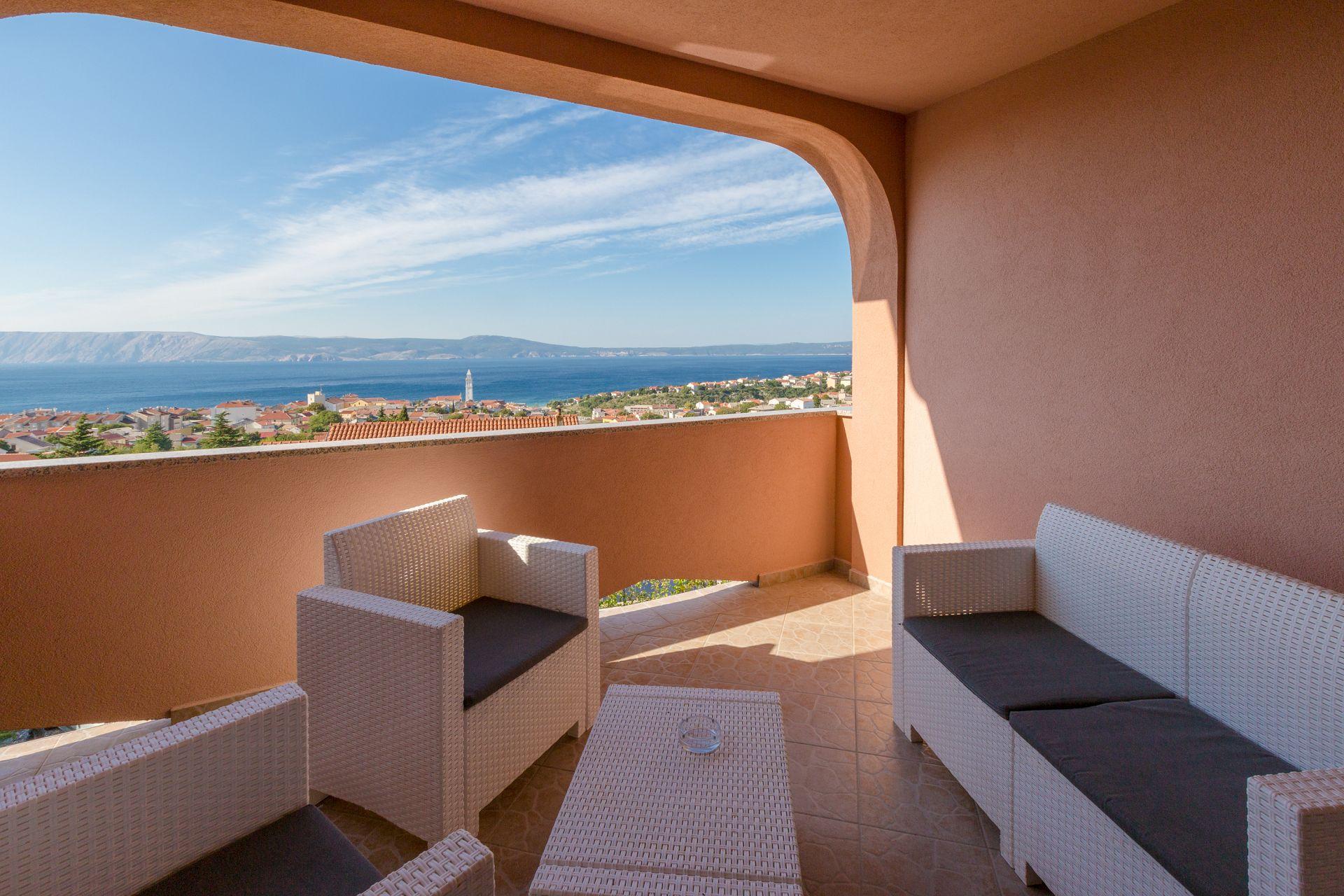 A4 dvoetažni(4+3): terrace