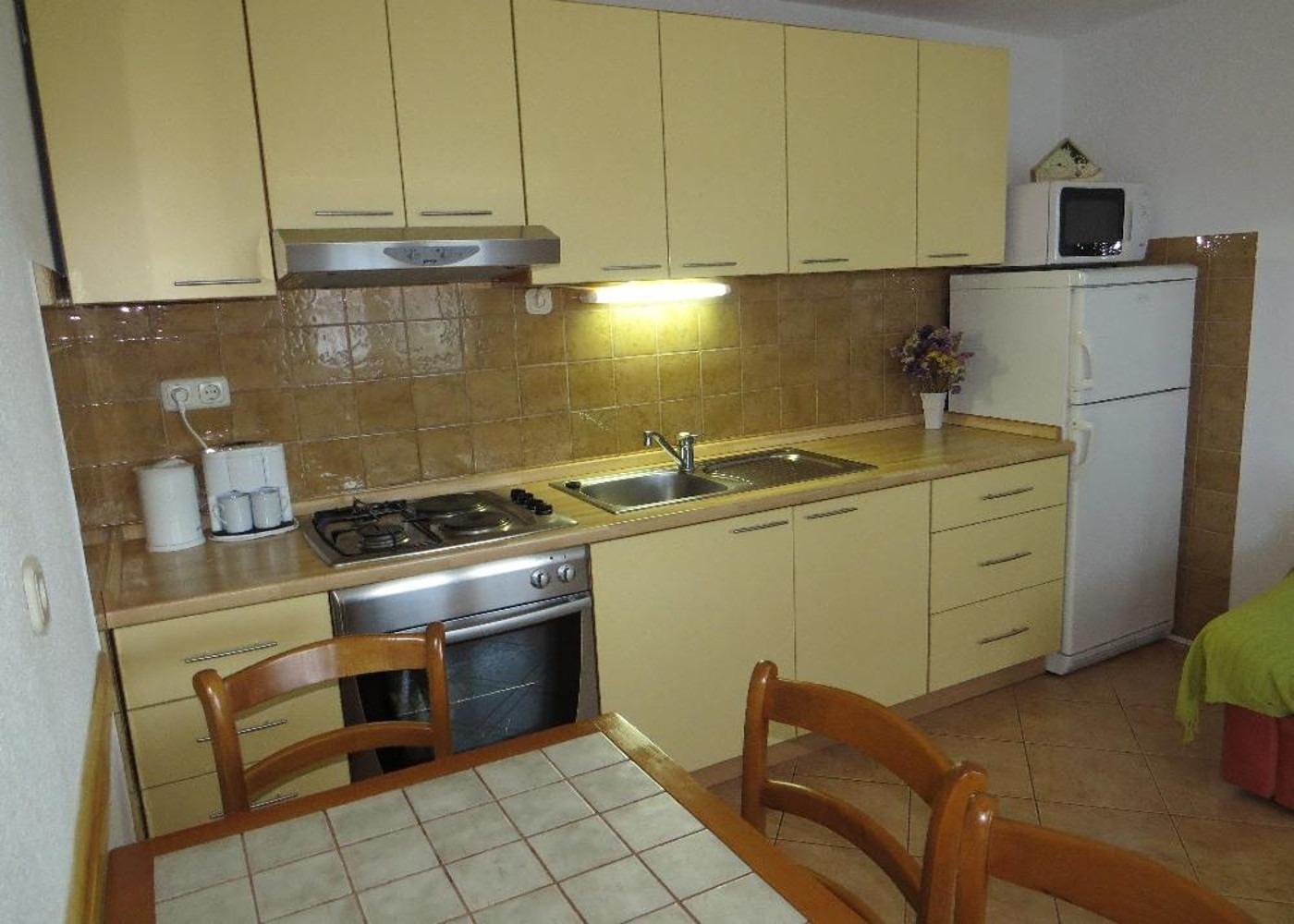Bubi - Mastrinka - Appartementen Kroatië - A1(2+2): keuken