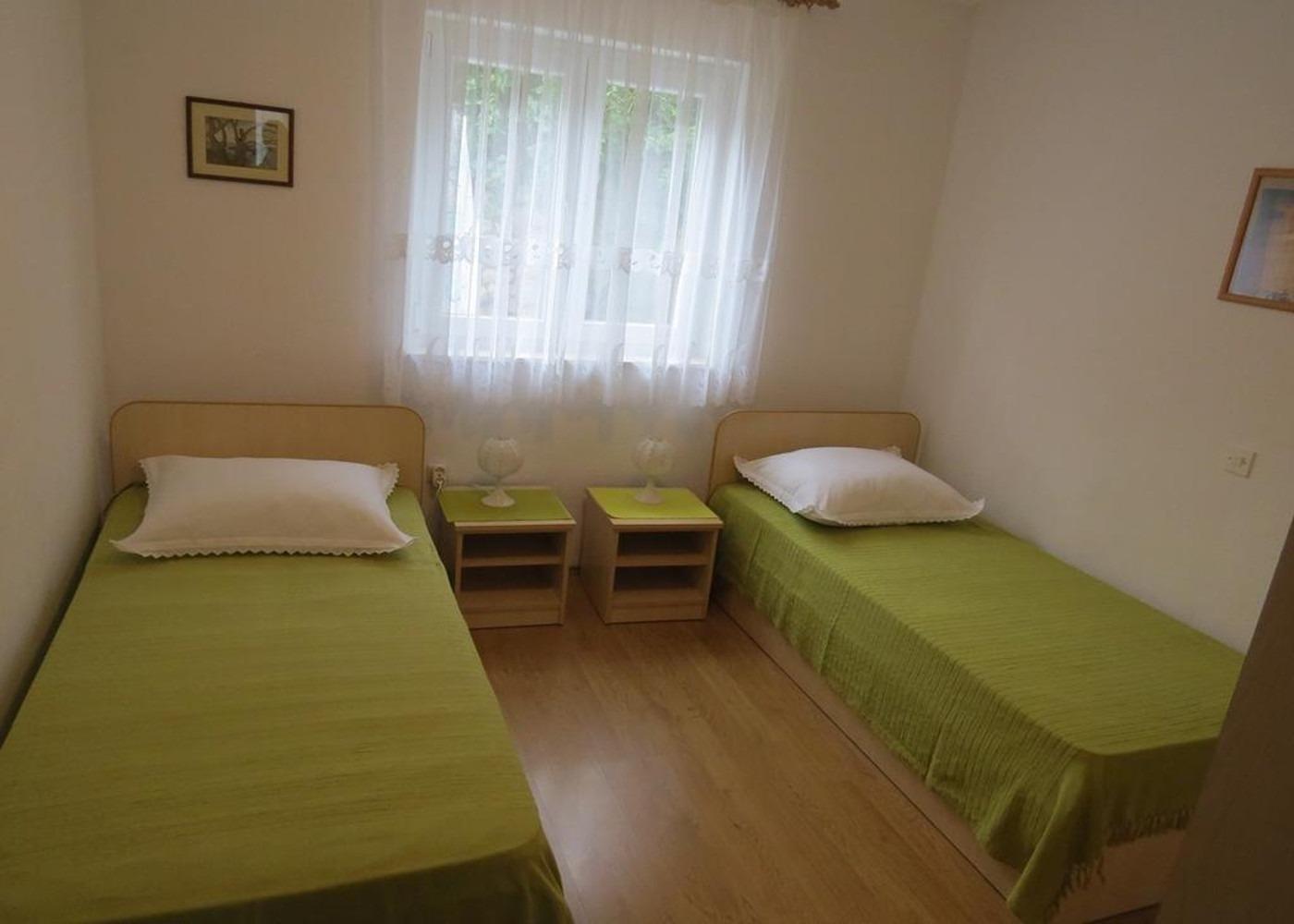 Bubi - Mastrinka - Appartementen Kroatië - A2 Prvi kat(4+2): slaapkamer