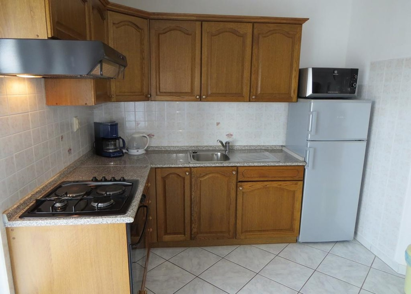 Bubi - Mastrinka - Appartementen Kroatië - A2 Prvi kat(4+2): keuken