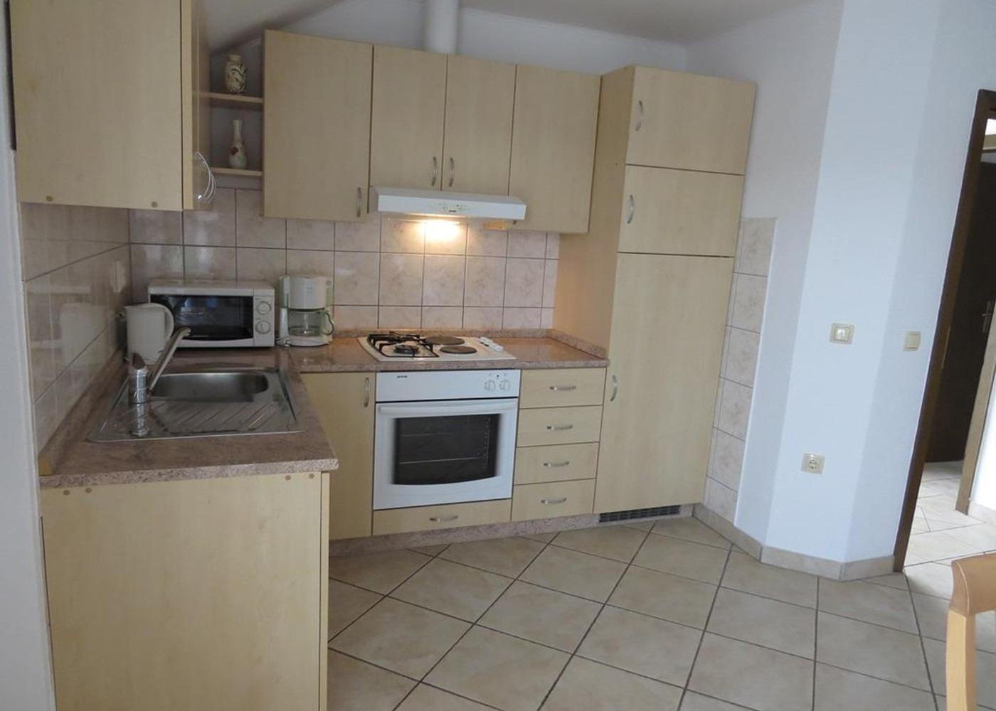 Bubi - Mastrinka - Appartementen Kroatië - A3 drugi kat (4+2): keuken
