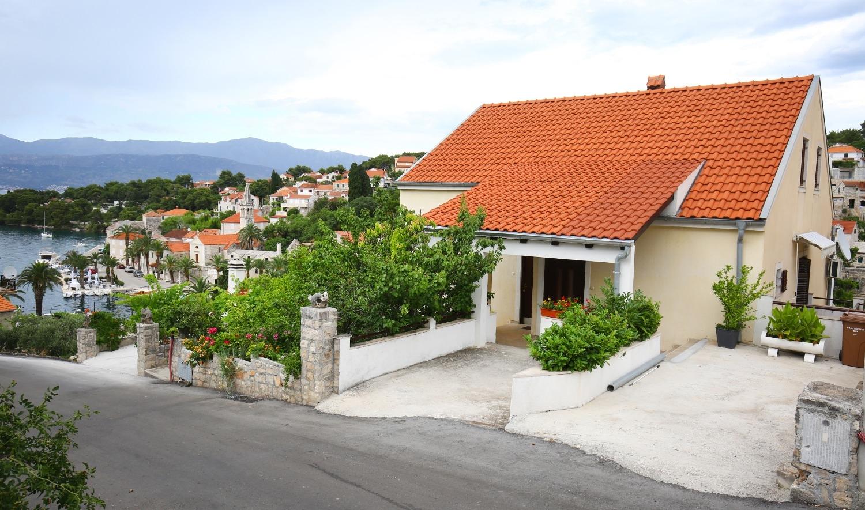Neda - Splitska - Appartementen Kroatië