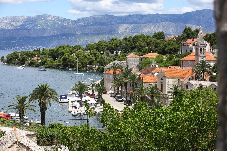 Neda - Splitska - Appartementen Kroatië - uitzicht