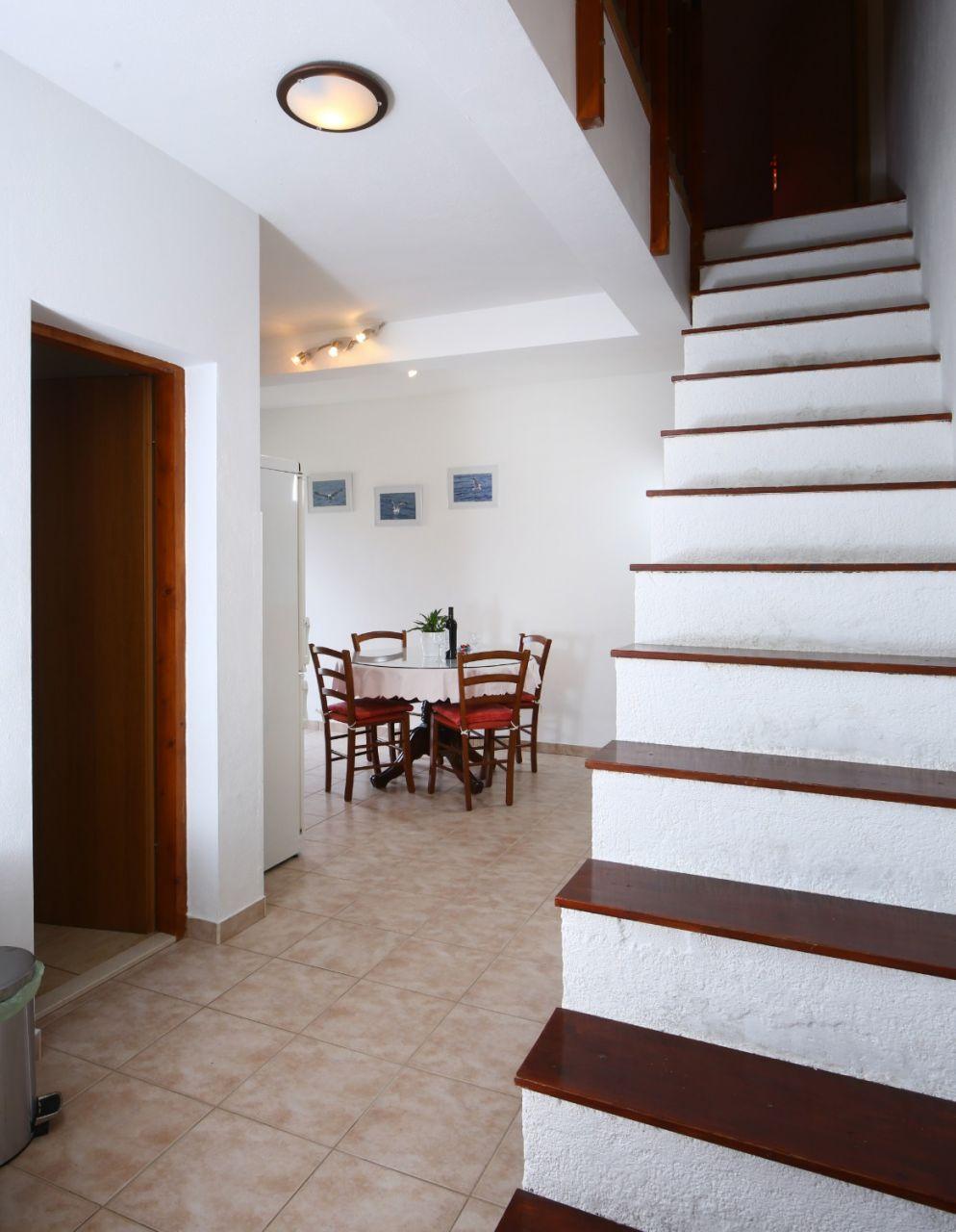 Neda - Splitska - Appartementen Kroatië - A2(4+1): trappenhuis