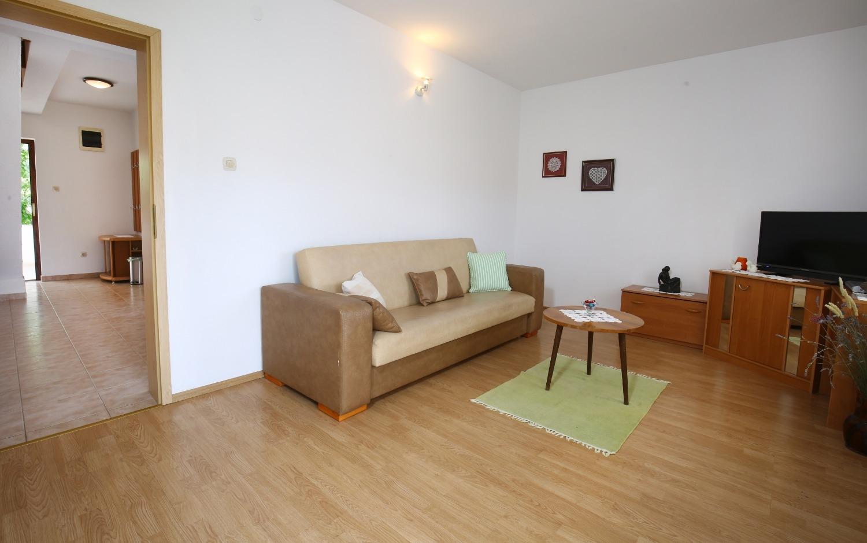 Neda - Splitska - Appartementen Kroatië - A2(4+1): woonkamer