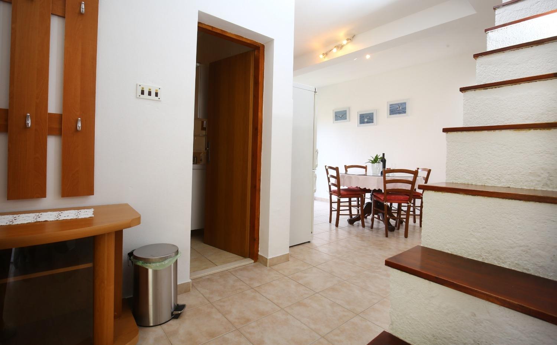 Neda - Splitska - Appartementen Kroatië - A2(4+1): gang