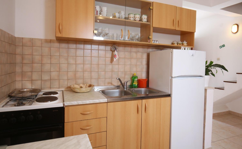 Neda - Splitska - Appartementen Kroatië - A3(4+1): keuken