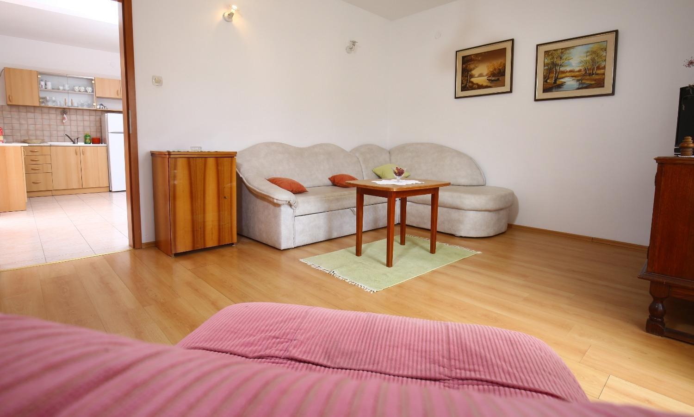 Neda - Splitska - Appartementen Kroatië - A3(4+1): woonkamer