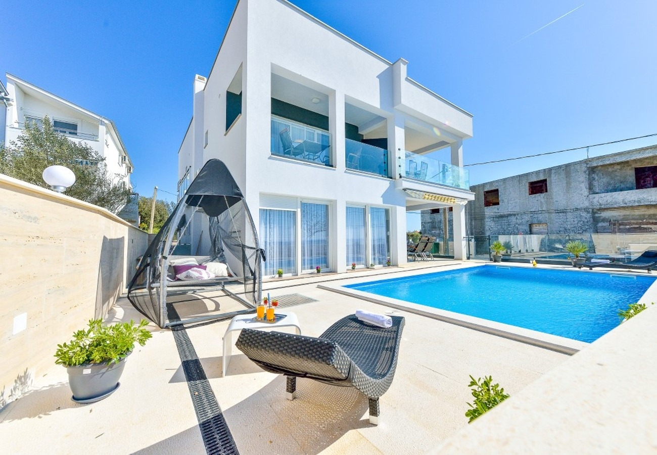 Sunny by the Sea - Zaton (Zadar) - Appartementen Kroatië - huis