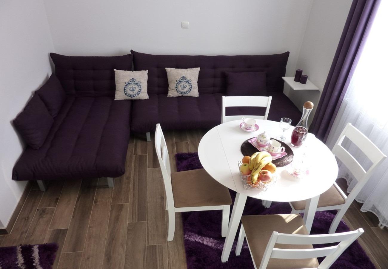 Sunny by the Sea - Zaton (Zadar) - Appartementen Kroatië - A1(2+2): woonkamer