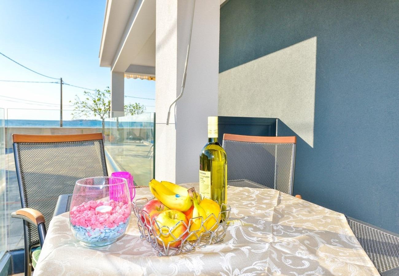 Sunny by the Sea - Zaton (Zadar) - Appartementen Kroatië - A1(2+2): detail
