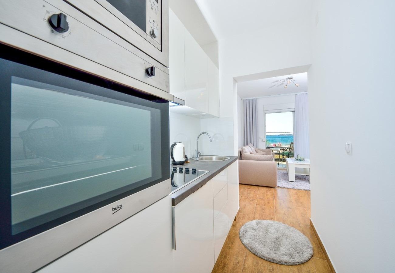 Sunny by the Sea - Zaton (Zadar) - Appartementen Kroatië - A3(2+2): keuken