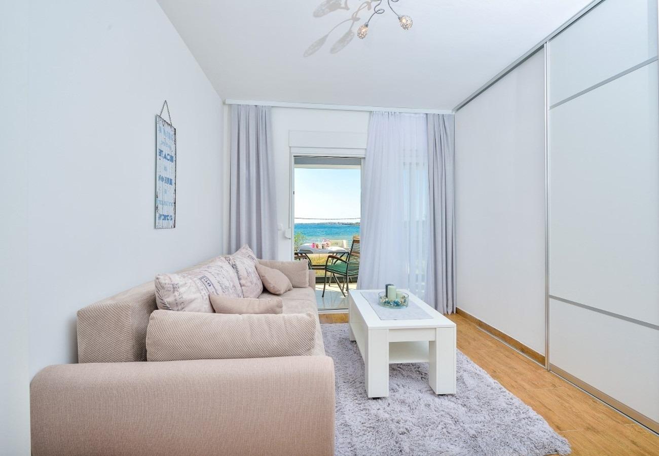 Sunny by the Sea - Zaton (Zadar) - Appartementen Kroatië - A3(2+2): woonkamer