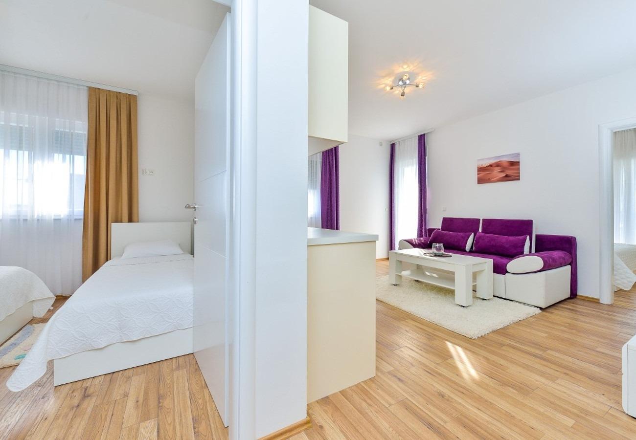 Sunny by the Sea - Zaton (Zadar) - Appartementen Kroatië - A4(4+3): slaapkamer