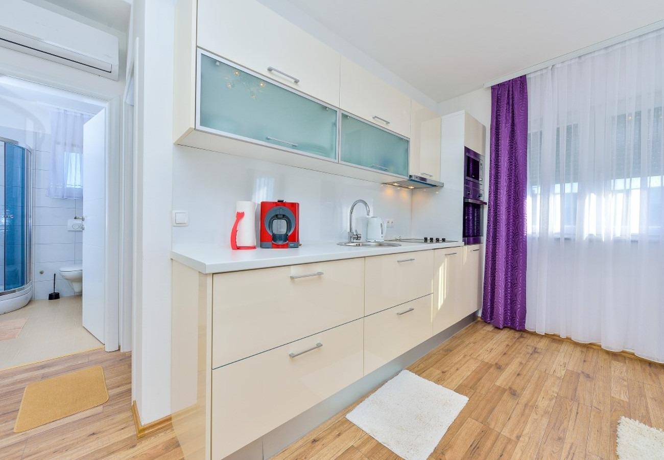 Sunny by the Sea - Zaton (Zadar) - Appartementen Kroatië - A4(4+3): keuken