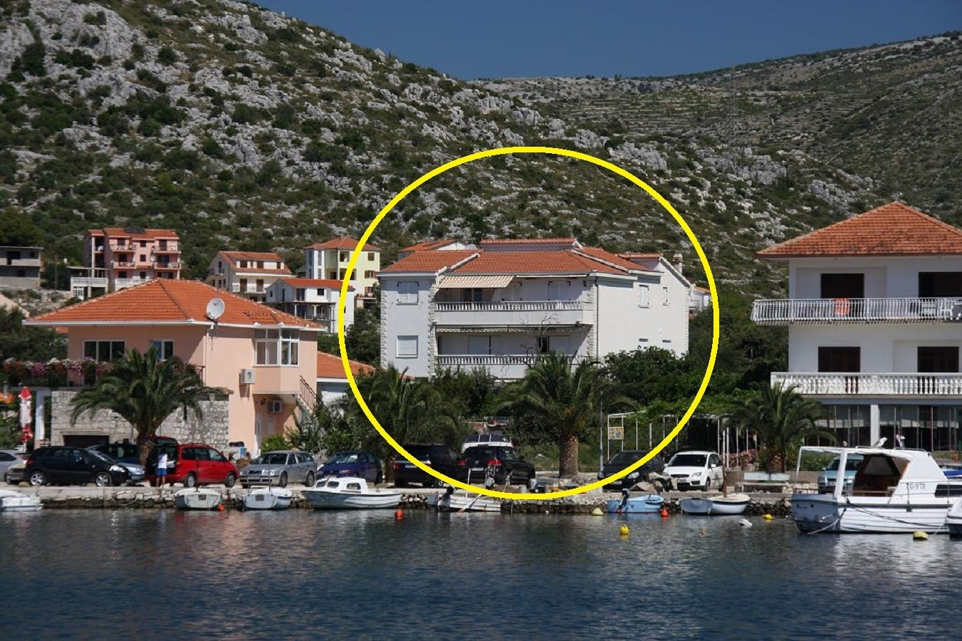 Apartments, Seget Vranjica, Trogir and surroundings - Apartments  Vesna - 40 m from pebble beach: