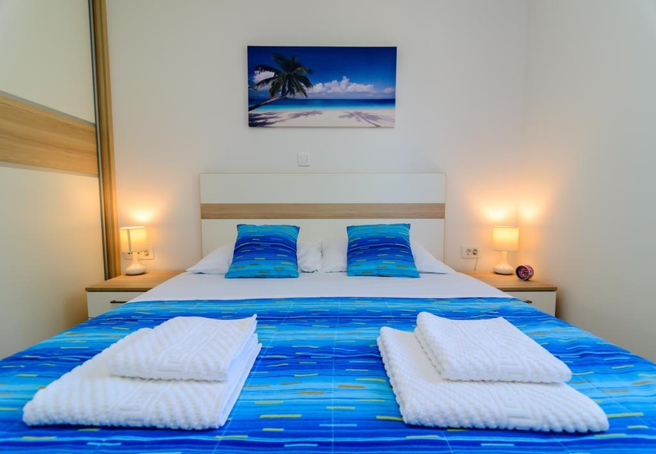 Mali princ - Zadar - Appartementen Kroatië - A3(2+2): slaapkamer