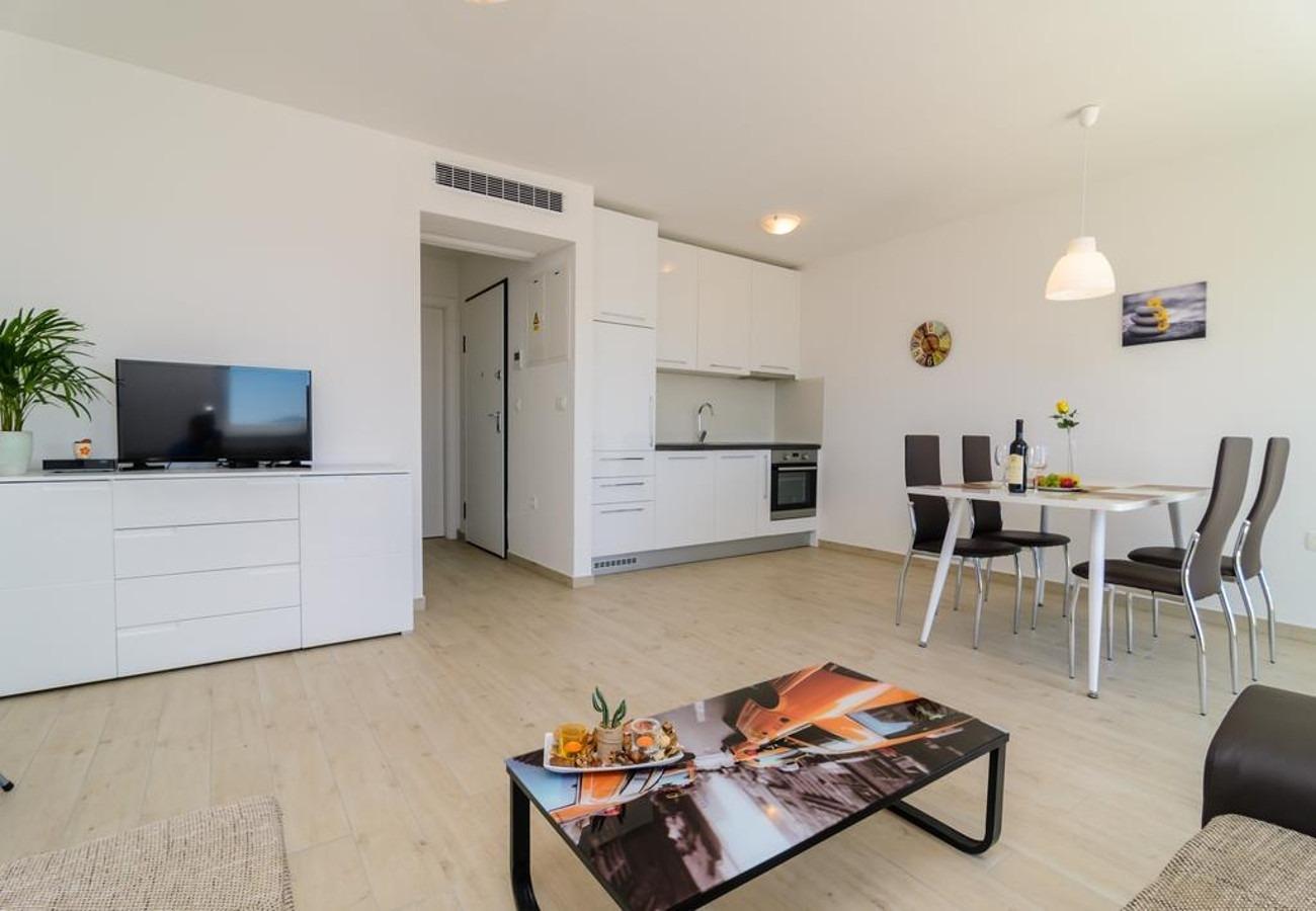 Mali princ - Zadar - Appartementen Kroatië - A3(2+2): woonkamer