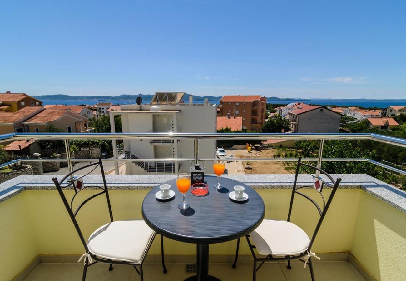 Mali princ - Zadar - Appartementen Kroatië - A3(2+2): balkon