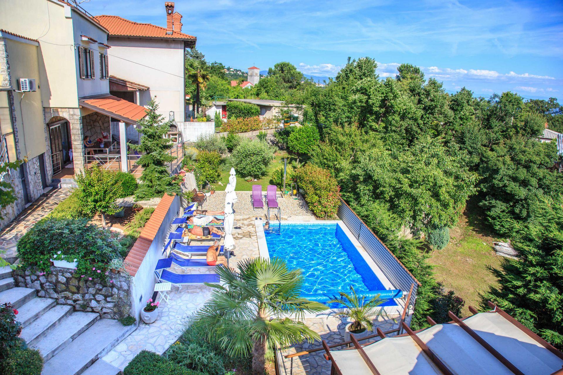 Luc - Matulji - Appartementen Kroatië