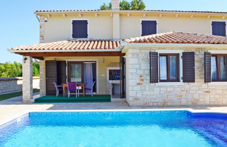 Mary - Medulin - Vakantiehuizen, villa´s Kroatië - zwembad