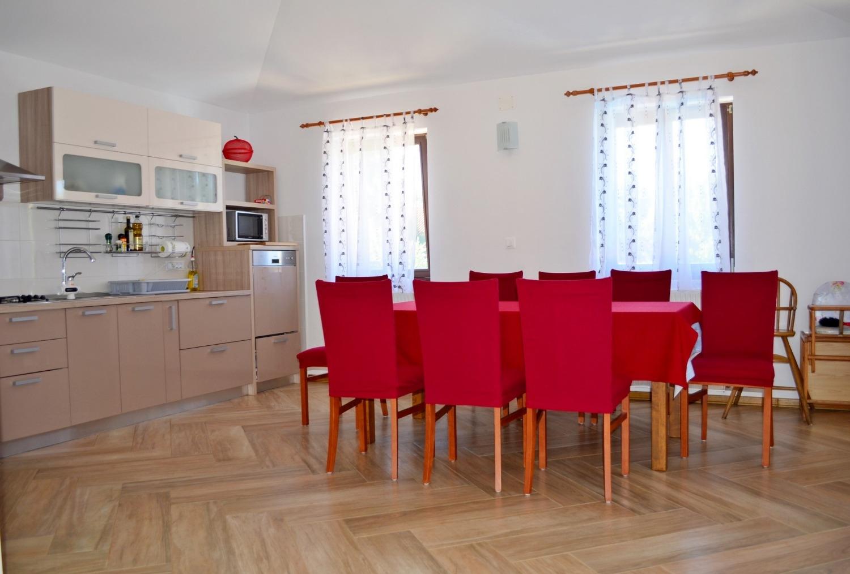 Mary - Medulin - Vakantiehuizen, villa´s Kroatië - H (8+1): keuken en eetkamer