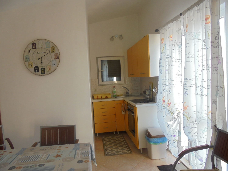 Angie - Necujam - Appartementen Kroatië - A1(2+1): keuken en eetkamer