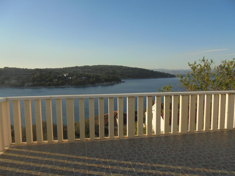 Angie - Necujam - Appartementen Kroatië - A1(2+1): terras