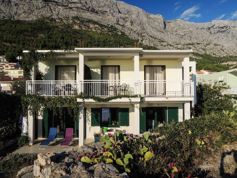 Smilja - Baska Voda - Appartementen Kroatië