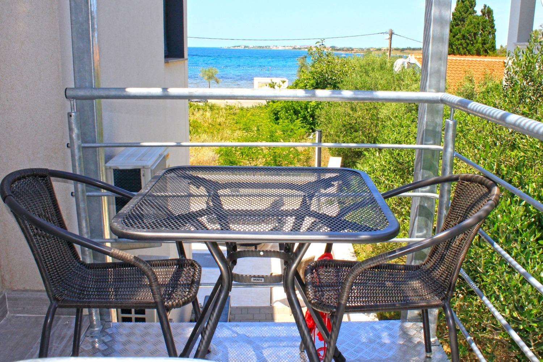 Sunny by the Sea - Zaton (Zadar) - Appartementen Kroatië - SA2(2): terras