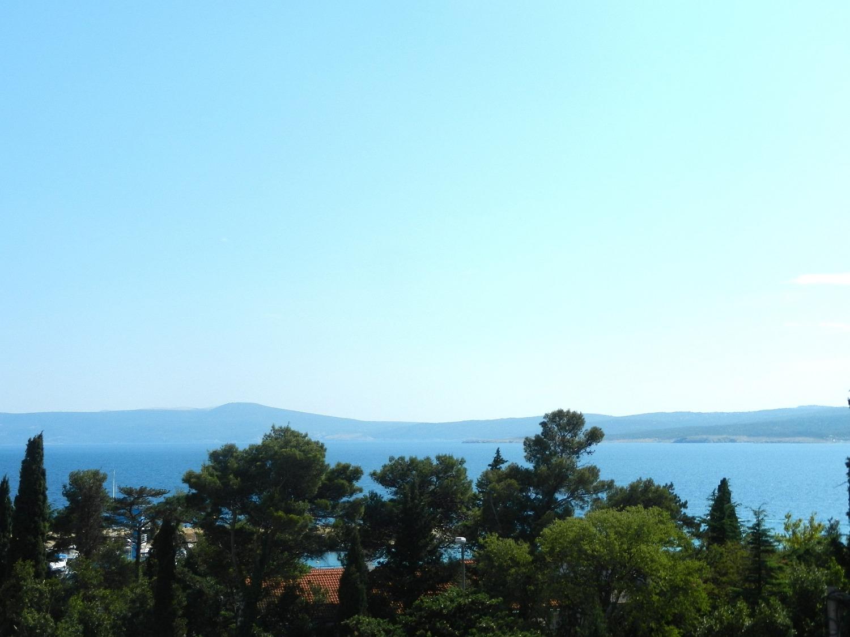 Jozefina - Crikvenica - Appartementen Kroatië - uitzicht