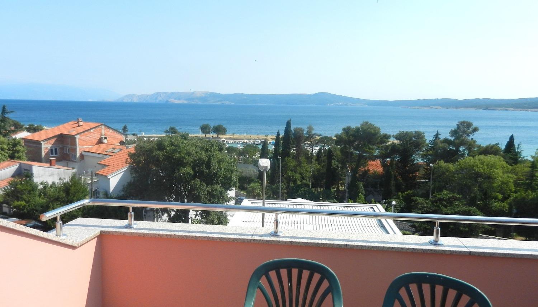 Jozefina - Crikvenica - Appartementen Kroatië - SA2(2): balkon