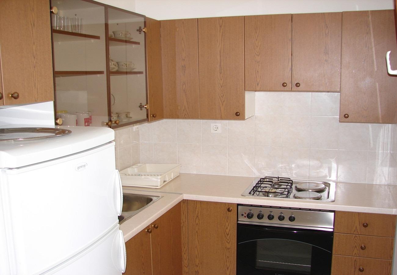 Nada - Brela - Appartementen Kroatië - A2(4+1): keuken