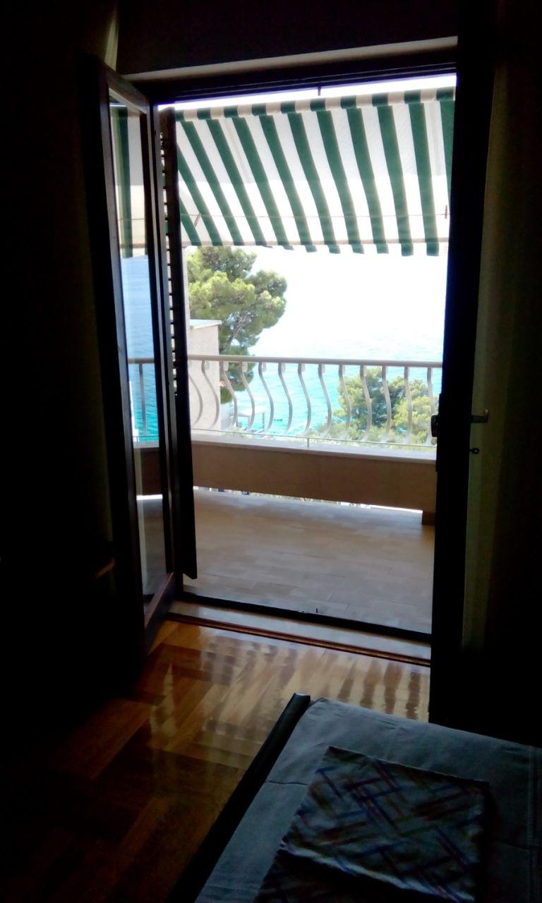 Nada - Brela - Appartementen Kroatië - A1(6): uitzicht